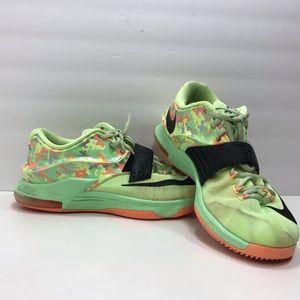 Nike KD VII 7 Lime Viper Green Black Shoes Sz 9.5